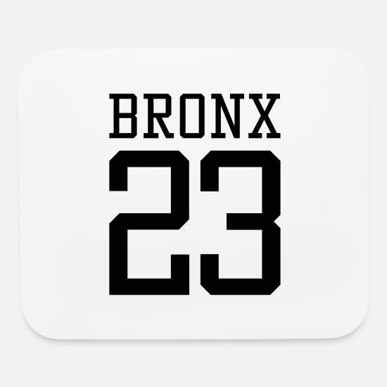 Gangsta Mouse Pads - Bronx 23 - Mouse Pad white