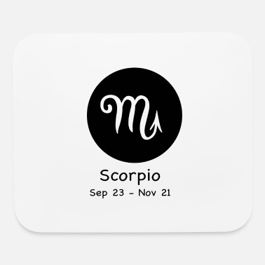 Horoscope Scorpio Horoscope - Mouse Pad