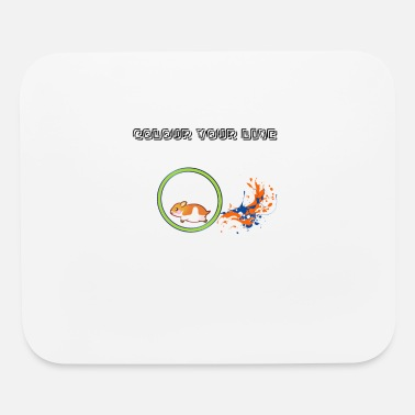 colour your live1 - Mouse Pad