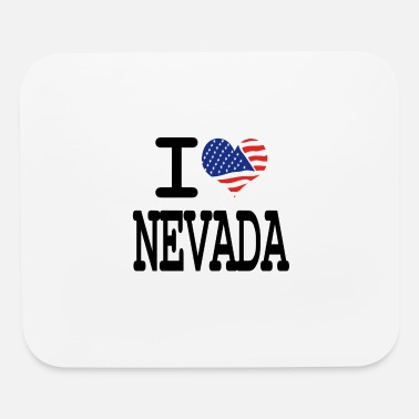 I Love i love nevada - Mouse Pad