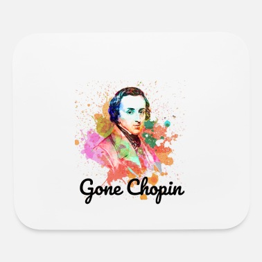 Gone Chopin | Funny Classical Music - Mouse Pad