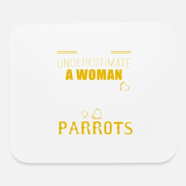 Woman Love Woman Loves Parrots Shirt - Mouse Pad
