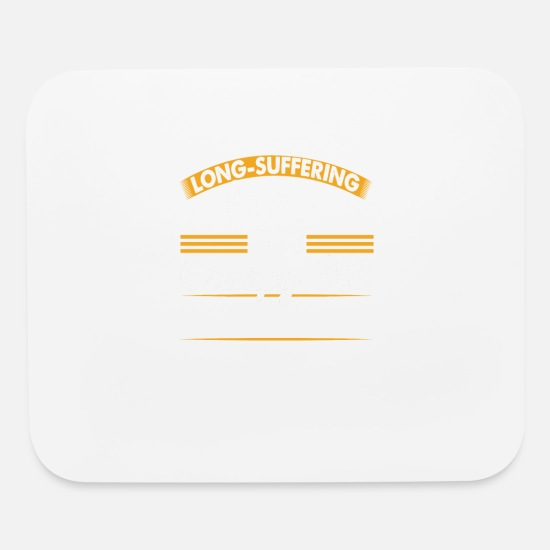 Wife Mouse Pads - System Admin Long Suffering Wife T-Shirt - Mouse Pad white