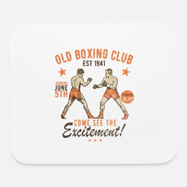 Vintage Old Boxing Club - Mouse Pad