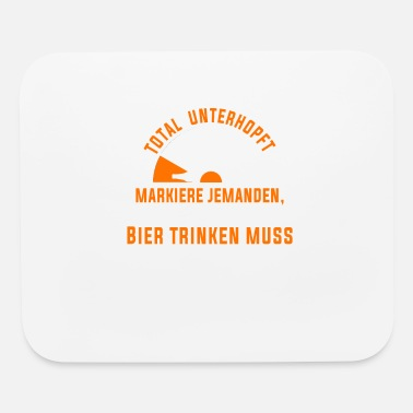 Urgent Mark someone who urgently needs a beer now - Mouse Pad