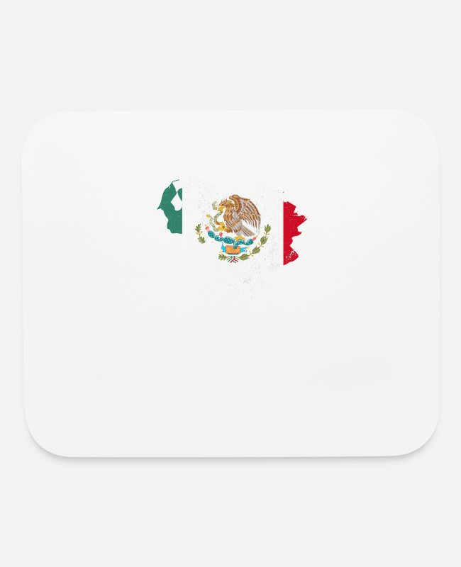 Venezuela Mouse Pads - Venezuela T Shirt Mexican Flag Shirt - Mouse Pad white
