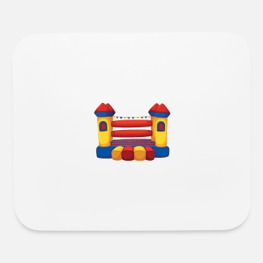 House Wake Up With A Bounce House friday - Mouse Pad