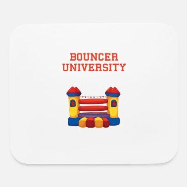 House Bouncer Bounce House University - Mouse Pad