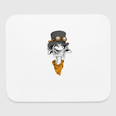 Into the WIld Steam Punk Giraffe - Mouse pad Horizontal