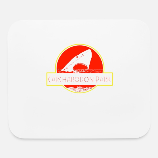 Birthday Mouse Pads - CARCHARODON PARK - Mouse Pad white