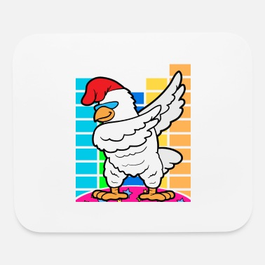 Discothek Dabbing Dab Rooster Disco Party Music Discothek - Mouse Pad