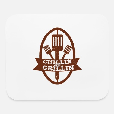 Grillzange Chillen and Grillin - Mouse Pad