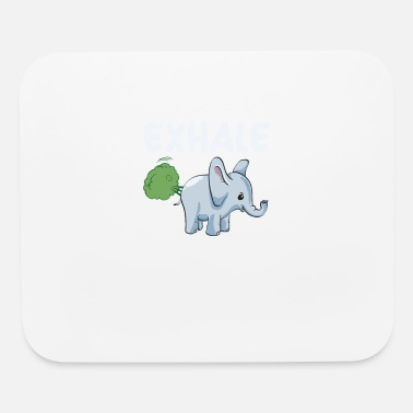 Exhale Elephant Exhale - Mouse Pad