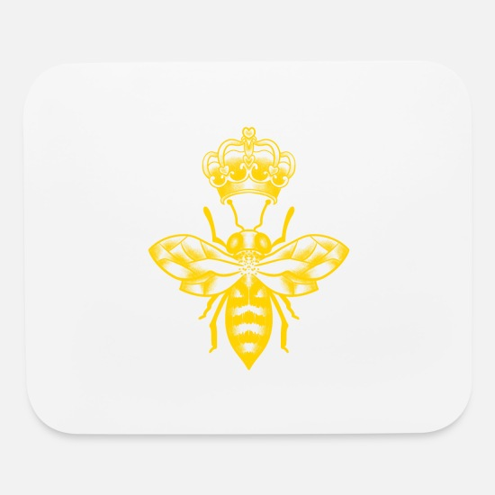 Kids Mouse Pads - Queen Bee - Mouse Pad white