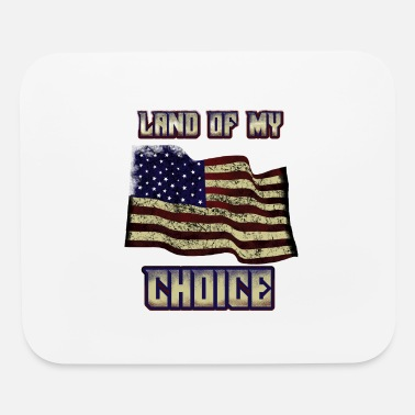 American Citizen New american citizen land of my choice us shirt - Mouse Pad