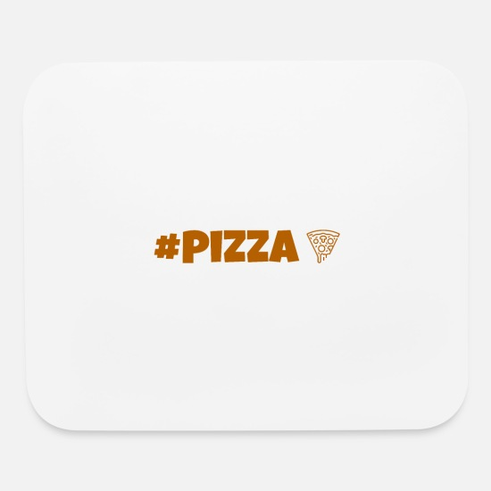Hashtag Mouse Pads - Pizza - Mouse Pad white