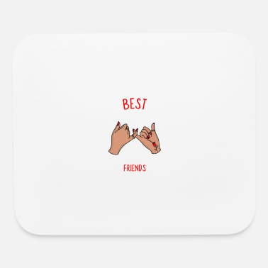 Best Friend And best friends - Mouse Pad