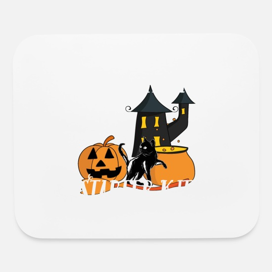 Meme Mouse Pads - Witchcraft Starter Kit Cat Witch Funny design For - Mouse Pad white
