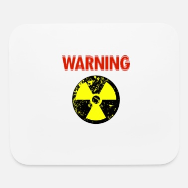 Nuclear Power Warning about nuclear power - Mouse Pad