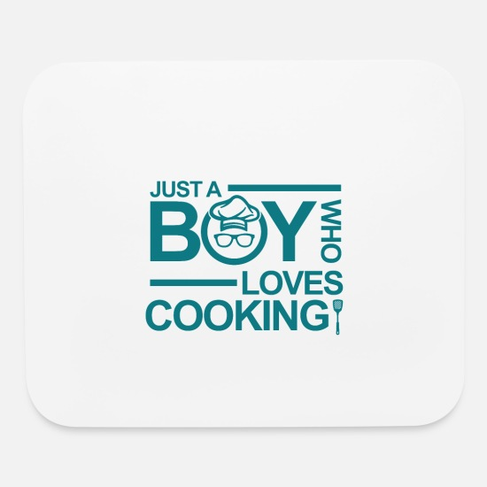 Gift Idea Mouse Pads - Chef! Cook! Kitchen! Gift for cooks ! Cooking - Mouse Pad white