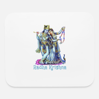Divinely Beautiful Radha Krishna - Mouse Pad