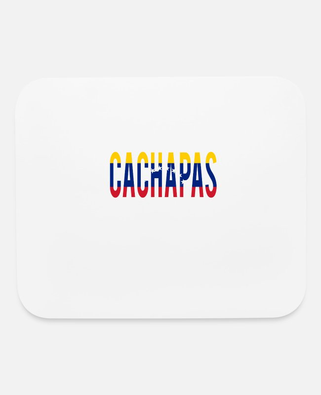 Venezuela Mouse Pads - For Lovers of Venezuelan Food and Culture - Mouse Pad white