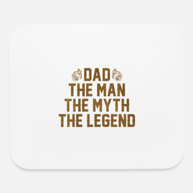 Cool Dad The Man Myth Legend T Shirt - Mouse pad Horizontal