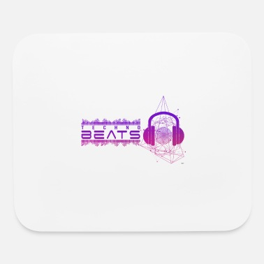 Electronic Music Techno Beat Headphones Electronic Music Technology - Mouse Pad