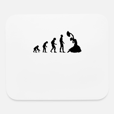 Flamenco Flamenco Evolution & Flamenco Dance / Black Dress - Mouse Pad