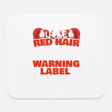 Red Hair Red hair freckles red hair redhead Gift - Mouse Pad