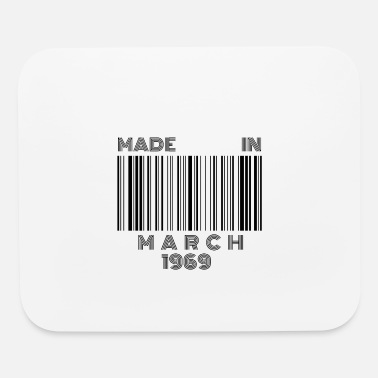 March 1969 Born in March 50th Birthday Gift | Made in 1969 - Mouse Pad