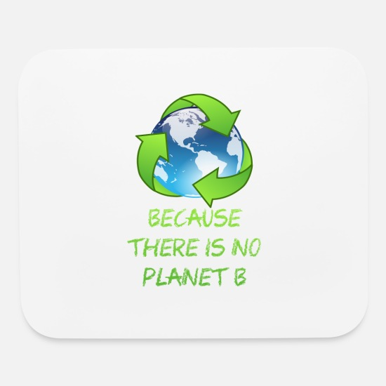 Birthday Mouse Pads - no Planet B - Mouse Pad white