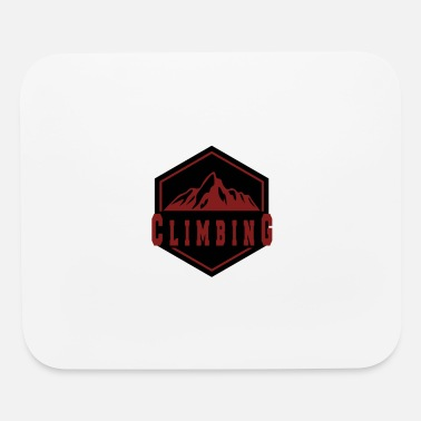 Mountain Climbing Climbing in the Mountain - Mouse Pad