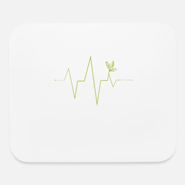 Pulse Green Planting Plants, Pulse Green, Vegetarian, Plant - Mouse Pad