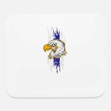 Sheepdog Police Law Enforcement Eagle Police Officer Thin Blue - Mouse Pad