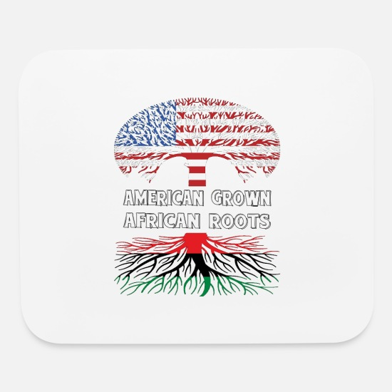 Roots Mouse Pads - American Roots - Mouse Pad white