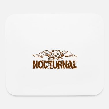 Nocturnal Nocturnal owl - Mouse Pad