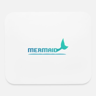 Fin Mermaid with fins - Mouse Pad