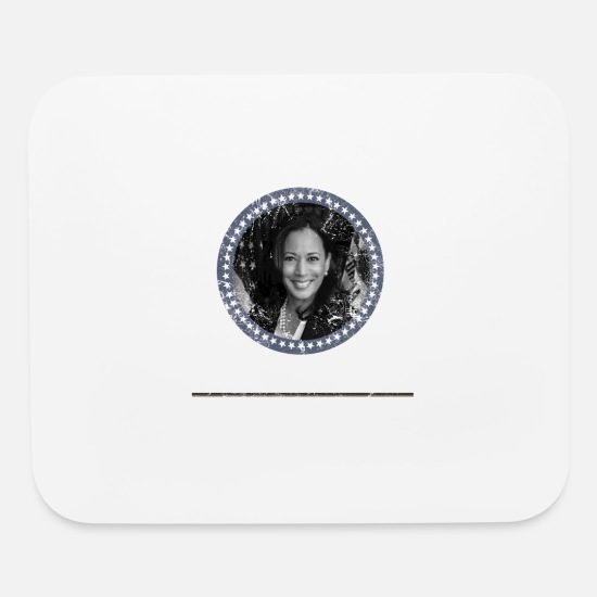 Kamala Harris Mouse Pads - Kamala Harris for Preident 2020 US Election - Mouse Pad white