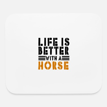 Horse Manure Horse - Mouse Pad