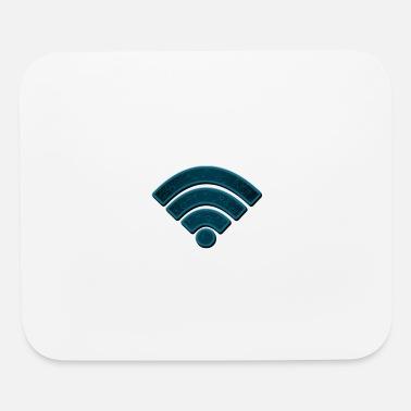 Internet Wifi Mouse pad Horizontal - white