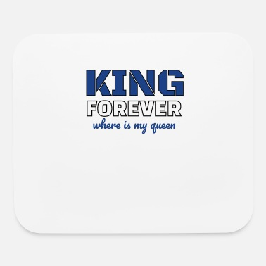 King Queen King and queen - Mouse Pad