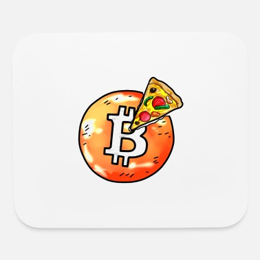 Cryptocurrency Bitcoin Pizza BTC Crypto Currency Hodl Blockchain - Mouse Pad
