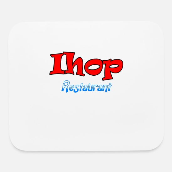 Platonic Solids Mouse Pads - ihop restaurant - Mouse Pad white