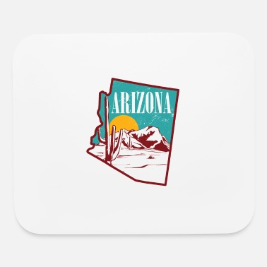 State Arizona Tshirt United states state - Mouse Pad