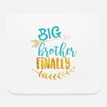 Announcement Big Brother graphic - Pregnancy Baby Announcement - Mouse Pad