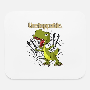 Pliers Dino unstoppable dinosaur with pliers - Mouse Pad