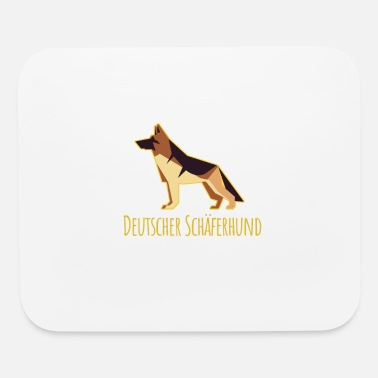 Hundeerziehung German Shepherd - Mouse Pad