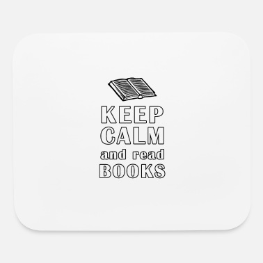 Novel Keep Calm And Read Books - Mouse Pad