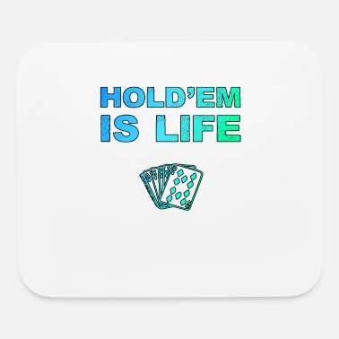 Hold'em Poker Holdem Texas Hold'em playing card - Mouse Pad